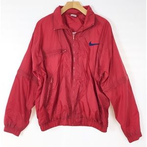 Vintage Nike zip on sleeves windbreaker jacket